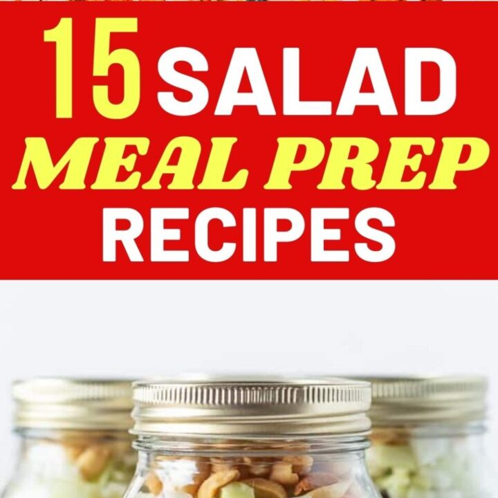 15 Quick And Healthy Salad Meal Prep Recipes