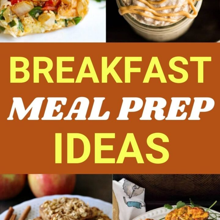 15 Healthy Breakfast Meal Prep Recipes For Busy Mornings