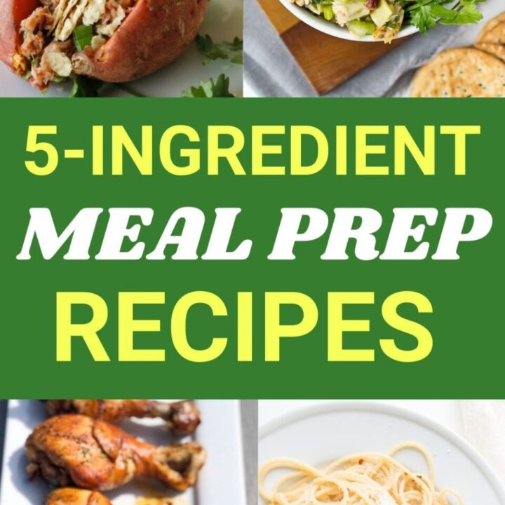 15 Easy 5-Ingredient Meal Prep Recipes for Less Than $10