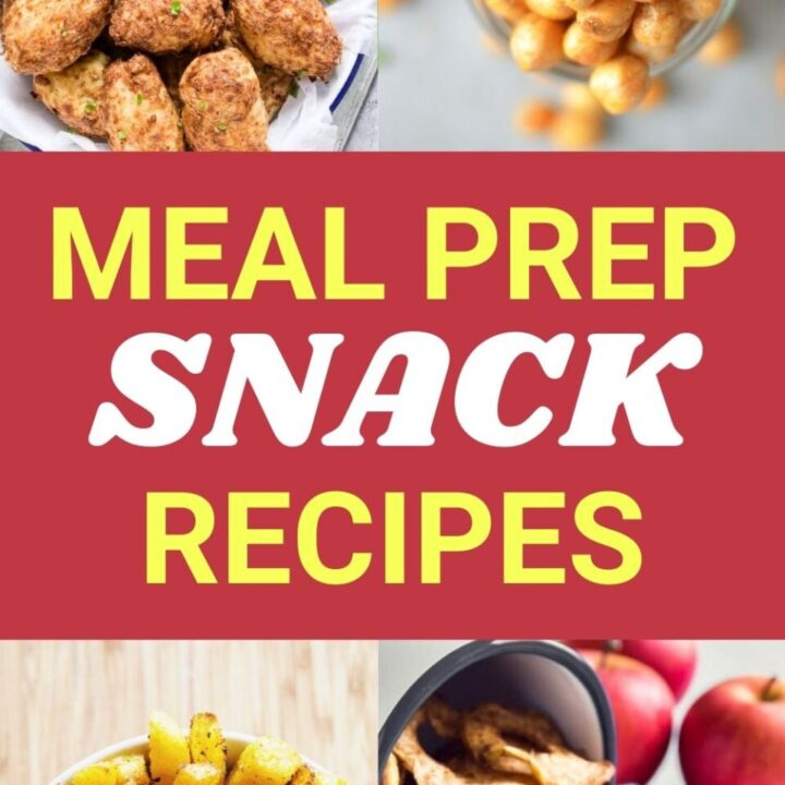 15 Tasty and Easy Meal Prep Snack Recipes
