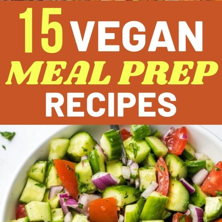 15 Delicious Vegan Meal Prep Recipes For A Healthy Week