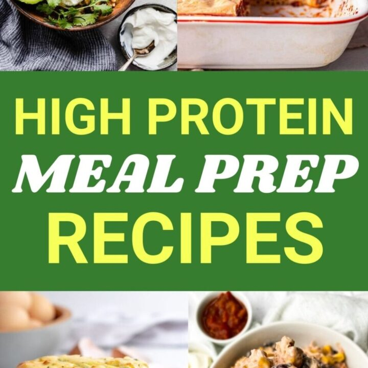15 Healthy High Protein Meal Prep Recipes