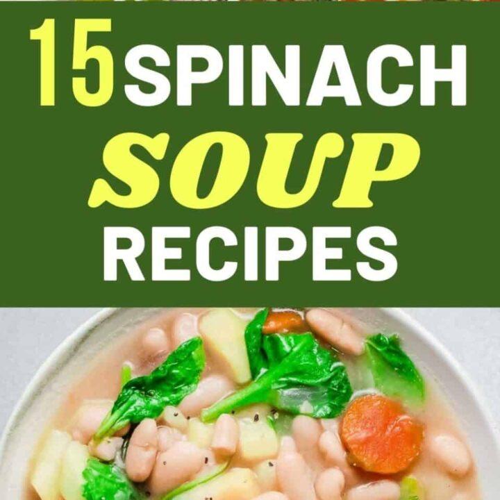 15 Delicious Spinach Soup Recipes | Healthy Recipes