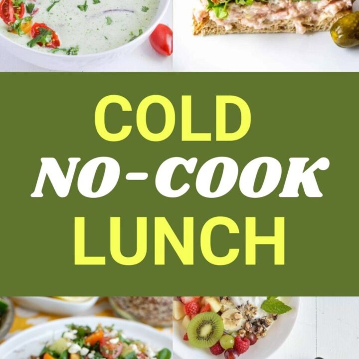 15 Cold No Cook Lunch Ideas For Daycare Kids