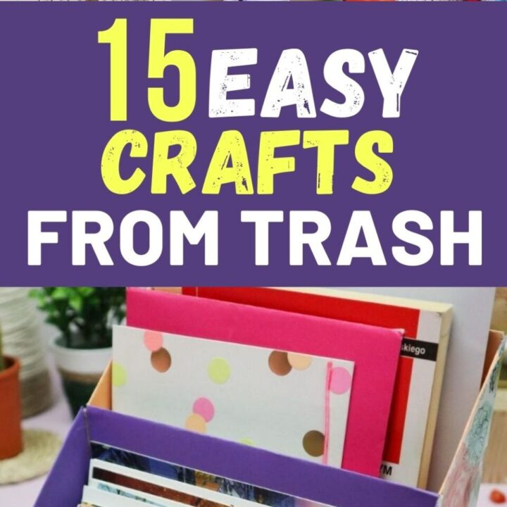 15 Upcycled and Creative Crafts From Trash