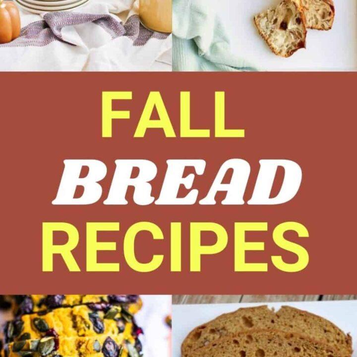15 Delicious Fall Bread Recipes   Healthy Fall Recipes