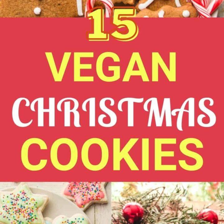 15 Fun And Jolly Vegan Christmas Cookie Recipes
