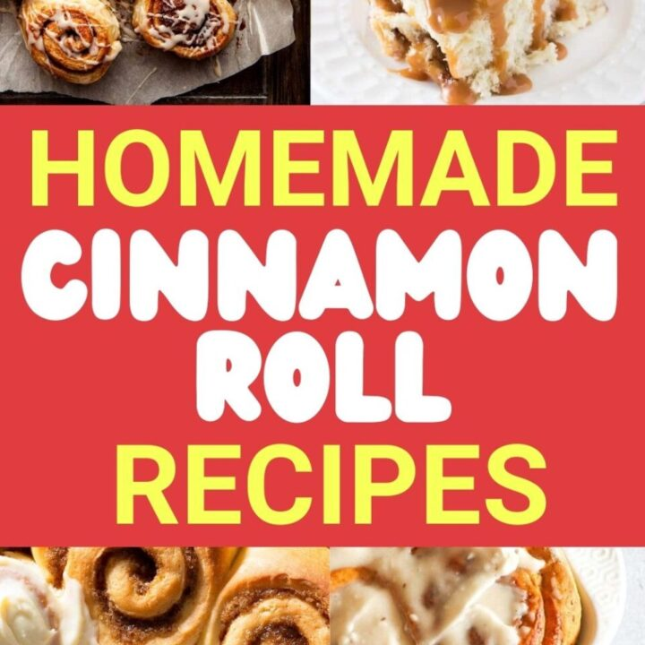15 Best Homemade Cinnamon Roll Recipes