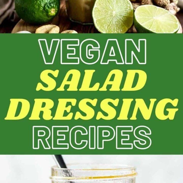 15 Tasty Vegan Salad Dressing Recipes | Healthy Salad Recipes