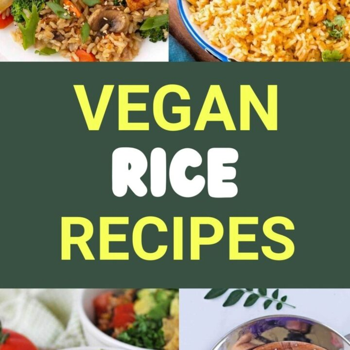15 Easy Vegan Rice Recipes | Healthy Vegan Recipes