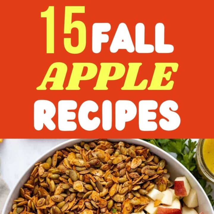 15 Healthy Fall Apple Recipes | Tasty Autumn Meals